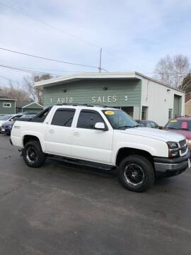 2005 Chevrolet Avalanche for sale at SHEFFIELD MOTORS INC in Kenosha WI
