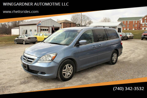 2006 Honda Odyssey for sale at WINEGARDNER AUTOMOTIVE LLC in New Lexington OH