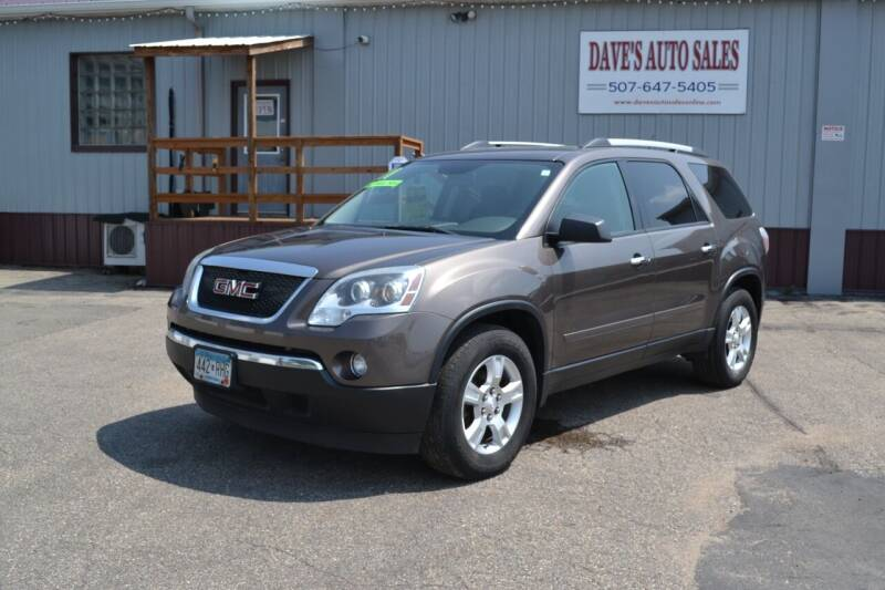 2011 GMC Acadia for sale at Dave's Auto Sales in Winthrop MN