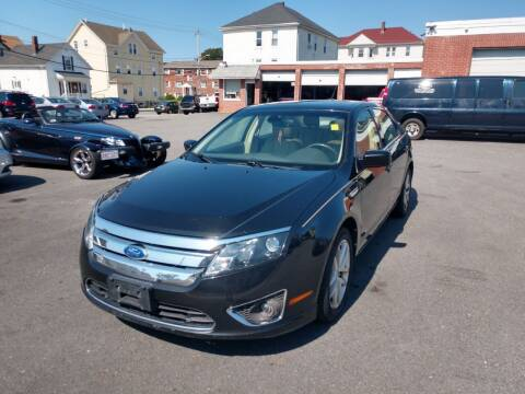 2011 Ford Fusion for sale at A J Auto Sales in Fall River MA