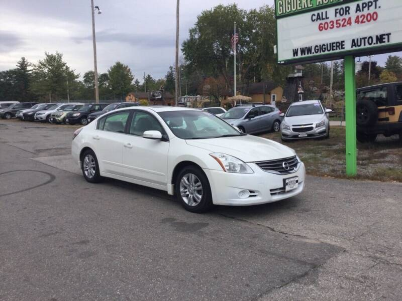 2010 Nissan Altima for sale at Giguere Auto Wholesalers in Tilton NH