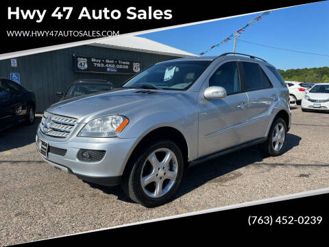 2008 Mercedes-Benz M-Class for sale at Hwy 47 Auto Sales in Saint Francis MN
