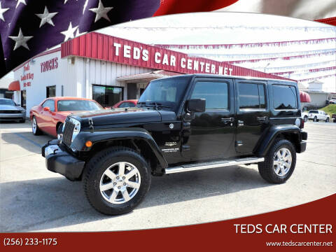 2012 Jeep Wrangler Unlimited for sale at TEDS CAR CENTER in Athens AL