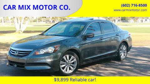 2011 Honda Accord for sale at CAR MIX MOTOR CO. in Phoenix AZ