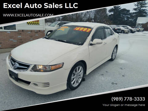2008 Acura TSX for sale at Excel Auto Sales LLC in Kawkawlin MI