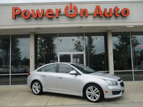 2015 Chevrolet Cruze for sale at Power On Auto LLC in Monroe NC