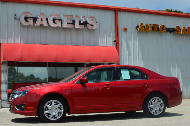 2012 Ford Fusion for sale at Gagel's Auto Sales in Gibsonton FL