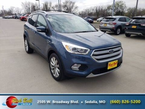 2018 Ford Escape for sale at RICK BALL FORD in Sedalia MO