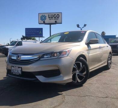 2017 Honda Accord for sale at LUGO AUTO GROUP in Sacramento CA