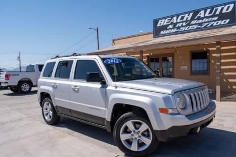 2011 Jeep Patriot for sale at Beach Auto and RV Sales in Lake Havasu City AZ