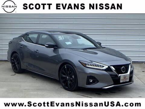 2020 Nissan Maxima for sale at Scott Evans Nissan in Carrollton GA