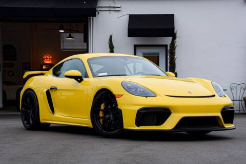 2021 Porsche 718 Cayman for sale at Milpas Motors in Santa Barbara CA