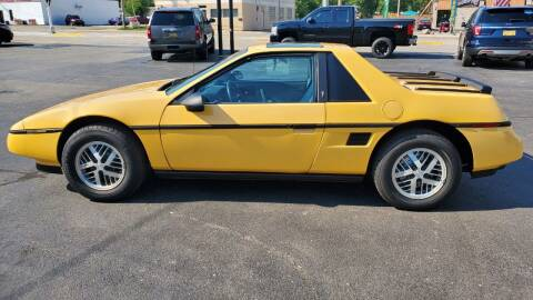 1988 Pontiac Fiero for sale at Appleton Motorcars Sales & Service in Appleton WI