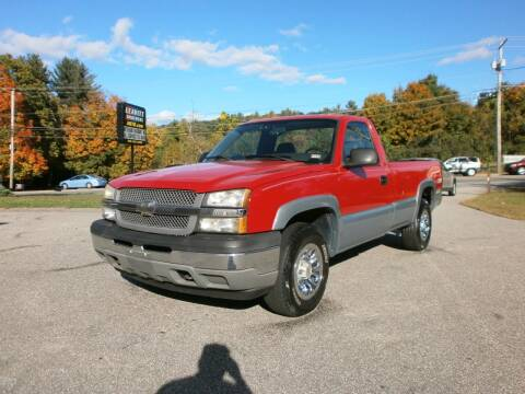 2005 Chevrolet Silverado 1500 for sale at Leavitt Brothers Auto in Hooksett NH