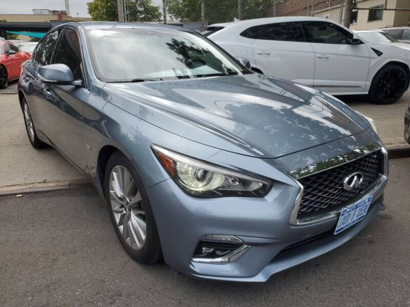 2018 Infiniti Q50 for sale at LUXURY OF QUEENS,INC in Long Island City NY