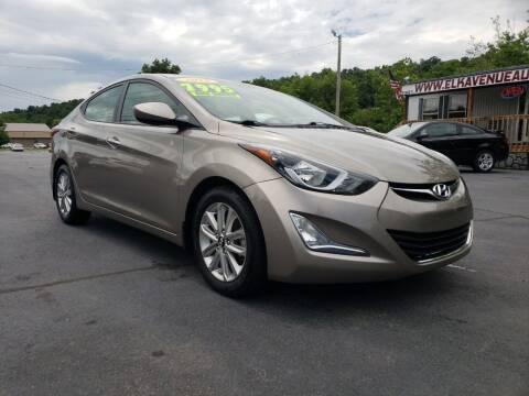 2016 Hyundai Elantra for sale at Elk Avenue Auto Brokers in Elizabethton TN