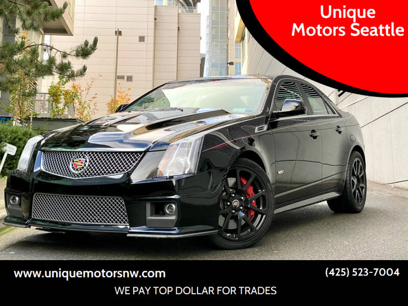 2010 Cadillac CTS-V for sale at Unique Motors Seattle in Bellevue WA