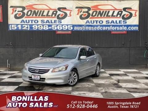 2012 Honda Accord for sale at Bonillas Auto Sales in Austin TX