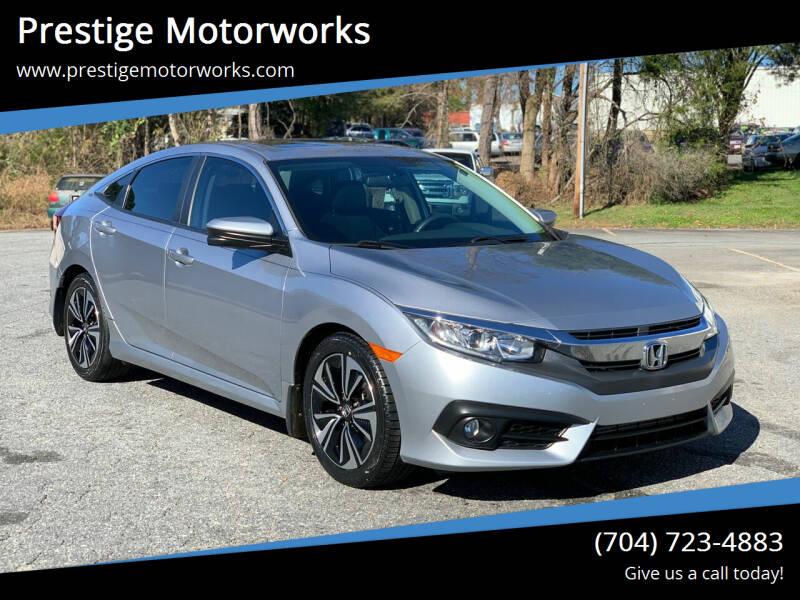 2016 Honda Civic for sale at Prestige Motorworks in Concord NC