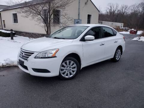 2015 Nissan Sentra for sale at Wallet Wise Wheels in Montgomery NY