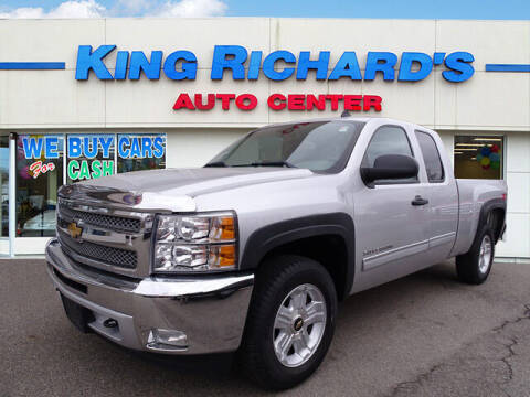 2012 Chevrolet Silverado 1500 for sale at KING RICHARDS AUTO CENTER in East Providence RI