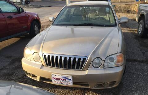 2003 Kia Optima for sale at Gordon Auto Sales LLC in Sioux City IA
