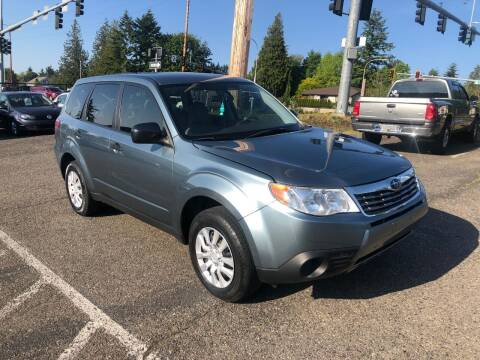 2010 Subaru Forester for sale at KARMA AUTO SALES in Federal Way WA