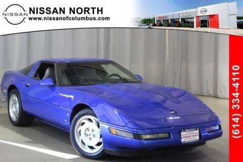 1995 Chevrolet Corvette for sale at Auto Center of Columbus in Columbus OH