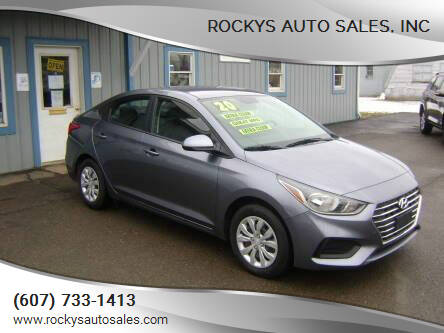 2020 Hyundai Accent for sale at Rockys Auto Sales, Inc in Elmira NY