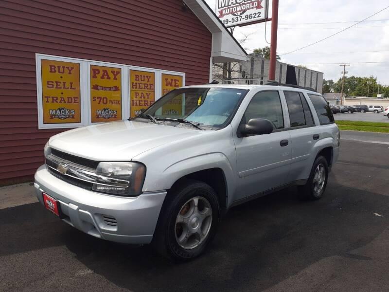 2008 Chevrolet TrailBlazer for sale at Mack's Autoworld in Toledo OH