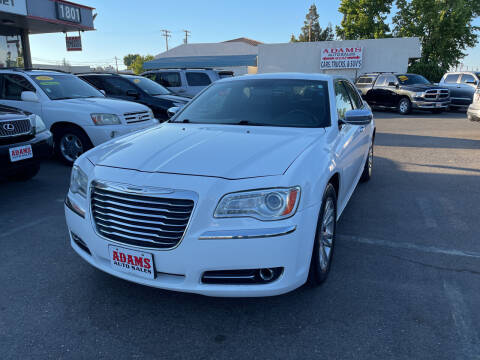 2012 Chrysler 300 for sale at Adams Auto Sales in Sacramento CA