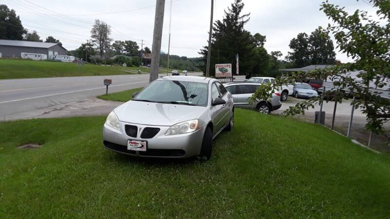 2007 Pontiac G6 for sale at Phillips Used Auto Sales in Loveland OH