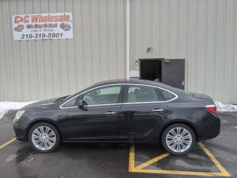 2013 Buick Verano for sale at C & C Wholesale in Cleveland OH