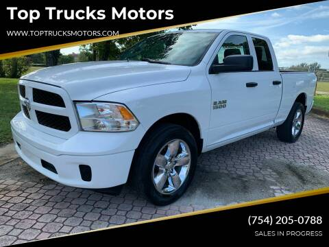 2018 RAM Ram Pickup 1500 for sale at Top Trucks Motors in Pompano Beach FL