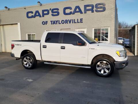 2012 Ford F-150 for sale at Caps Cars Of Taylorville in Taylorville IL