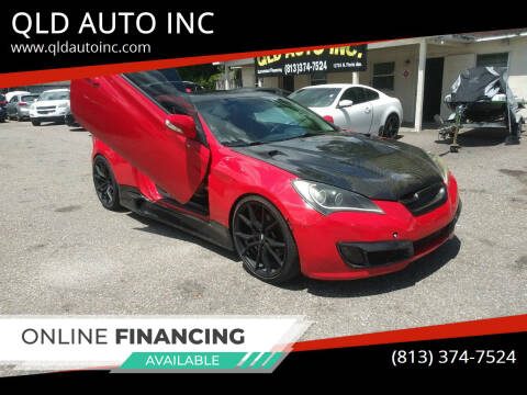 2010 Hyundai Genesis Coupe for sale at QLD AUTO INC in Tampa FL