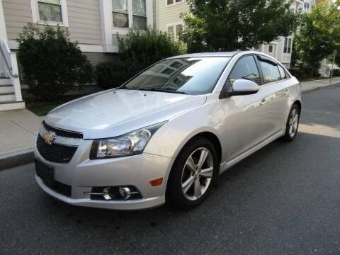 2013 Chevrolet Cruze for sale at Boston Auto Sales in Brighton MA