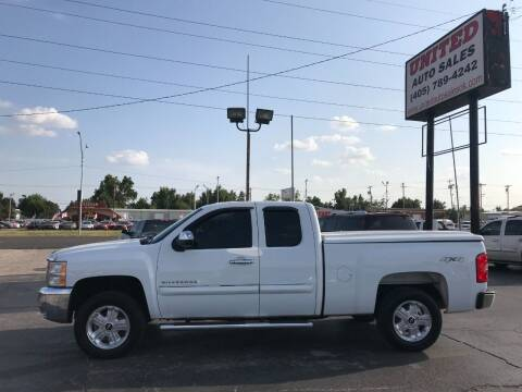 2012 Chevrolet Silverado 1500 for sale at United Auto Sales in Oklahoma City OK