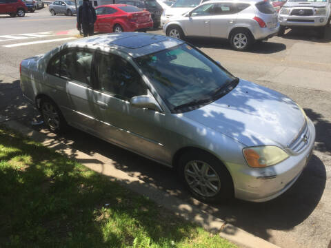 2003 Honda Civic for sale at UNION AUTO SALES in Vauxhall NJ