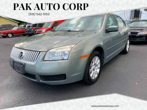 2009 Mercury Milan for sale at Pak Auto Corp in Schenectady NY
