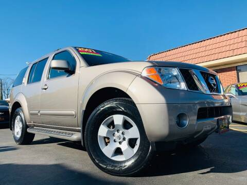 2007 Nissan Pathfinder for sale at Alpha AutoSports in Roseville CA