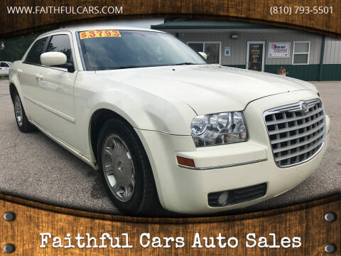 2005 Chrysler 300 for sale at Faithful Cars Auto Sales in North Branch MI