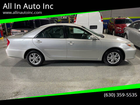 2004 Toyota Camry for sale at All In Auto Inc in Addison IL