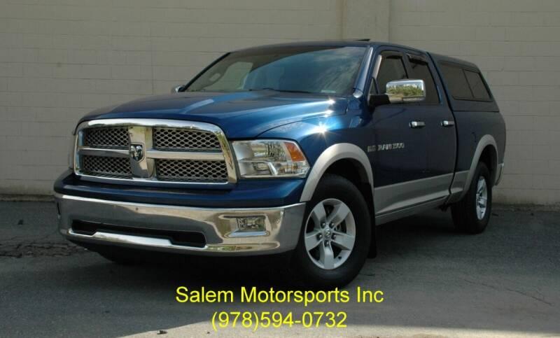 2011 RAM Ram Pickup 1500 for sale at Salem Motorsports in Salem MA