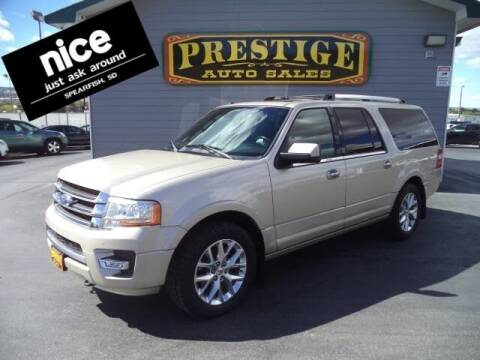 2017 Ford Expedition EL for sale at PRESTIGE AUTO SALES in Spearfish SD