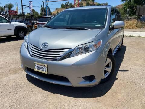 2016 Toyota Sienna for sale at Vtek Motorsports in El Cajon CA