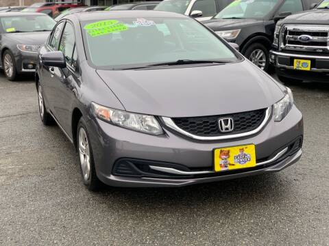 2015 Honda Civic for sale at Milford Auto Mall in Milford MA