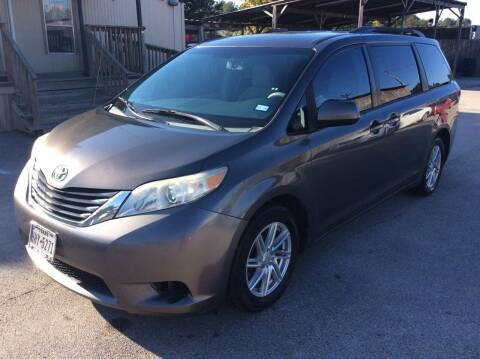 2012 Toyota Sienna for sale at OASIS PARK & SELL in Spring TX