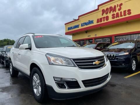 2014 Chevrolet Traverse for sale at Popas Auto Sales in Detroit MI