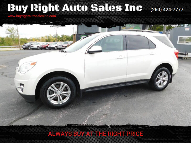 2013 Chevrolet Equinox for sale at Buy Right Auto Sales Inc in Fort Wayne IN